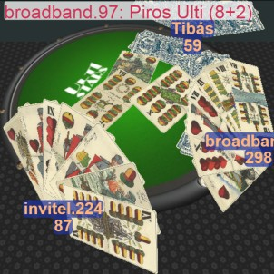 Online ulti játék 3D-ben